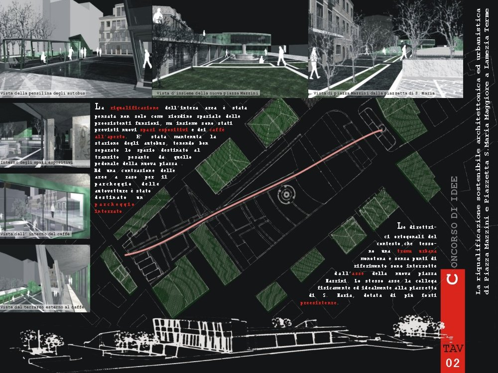 Bimstudio blog recupero centri urbani tiriolo cz - Tavole di concorso architettura ...